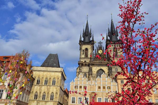 Весна  в Чехии ! Прага !