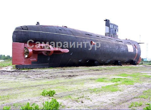 где в тольятти находится подводная лодка