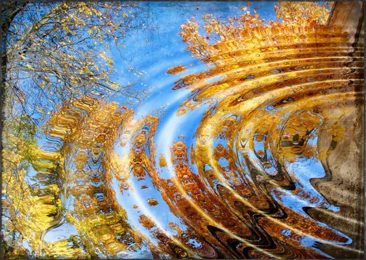 осень на море картинки